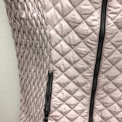 Renuar quilted vest, Silver, S
