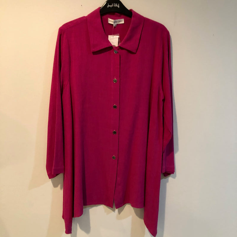 Christopher Calvin Shirt Hot pink S L XL