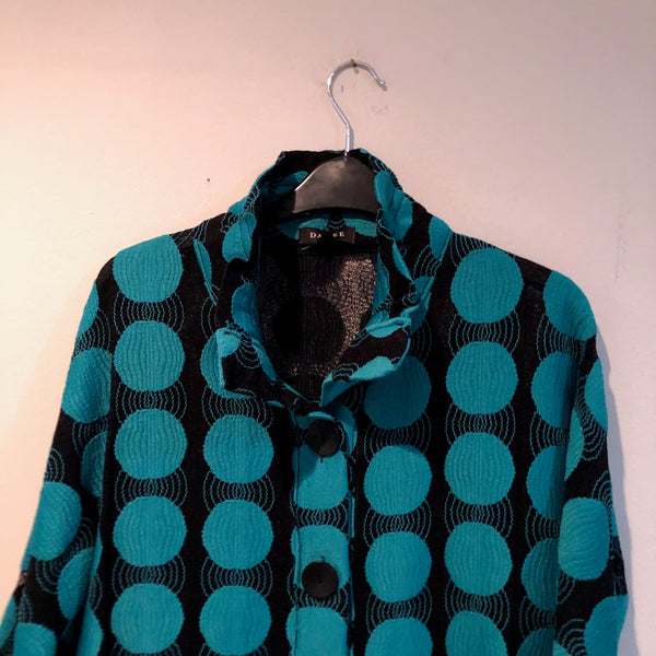 Damee Jacket Teal green S& M