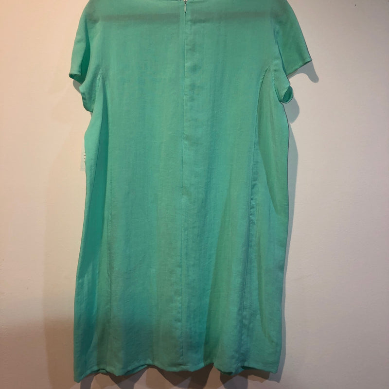 FRIDAZE Linen Dress Mint XL
