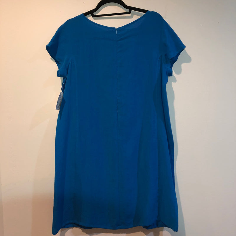 FRIDAZE Linen Dress Blue XL