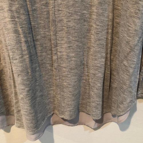Lysse top heather grey XS