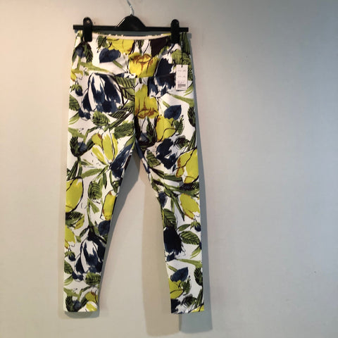 Lior printed pant/legging Navy/white/lime M
