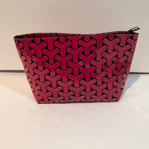 Patricia Luca crossbody, clutch Y design pink
