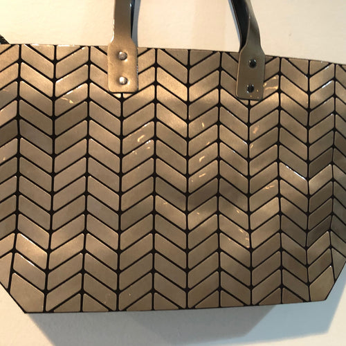 Copy of Patricia Luca Tote Dull gold