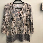 Whimsey Rose top Greys/taupes (neutrals)
