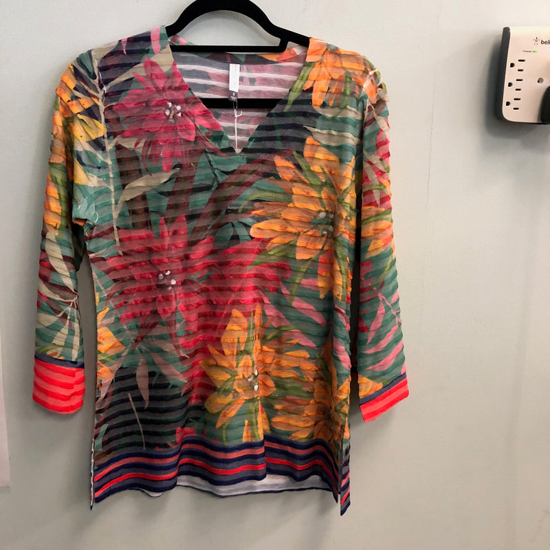 Whimsey Rose top Brights