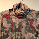 David Cline round neck top with matching scarf 6251 S M L