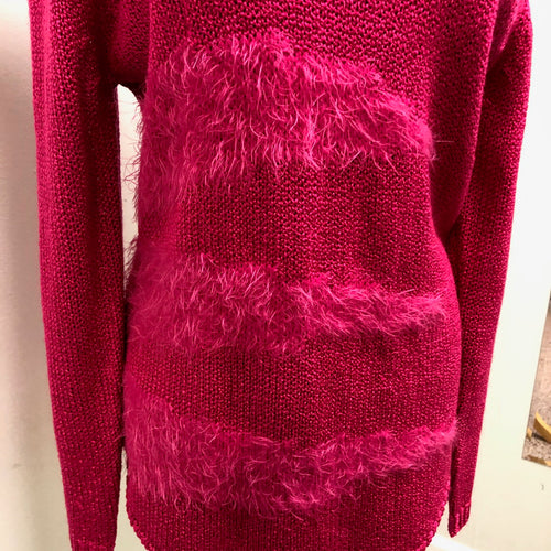 Marble Sweater Pink L