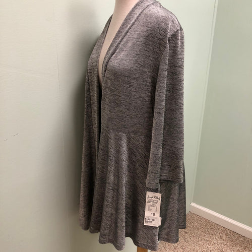 Joseph Ribkoff Silver/black cover up 16