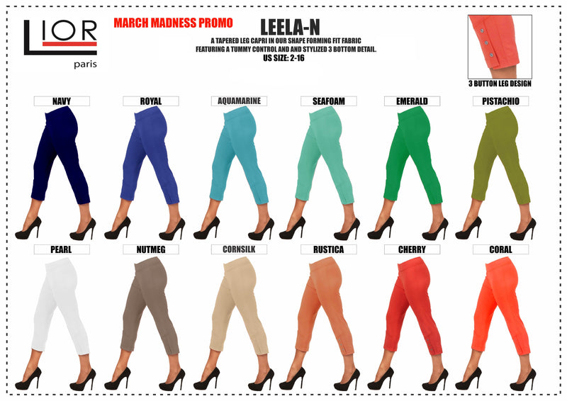 Lior Paris Capri pants Leela Part 1