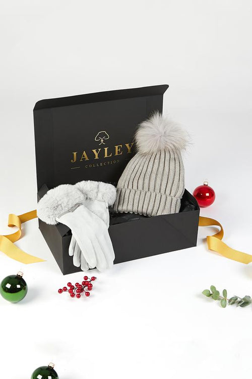 Jayley Gift set: Hat & Gloves JGS21A-07