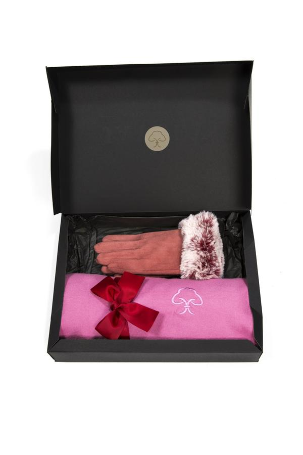 Jayley Gift set: Cashmere Blend and Faux Suede Gift SetJXMS165A-06 -