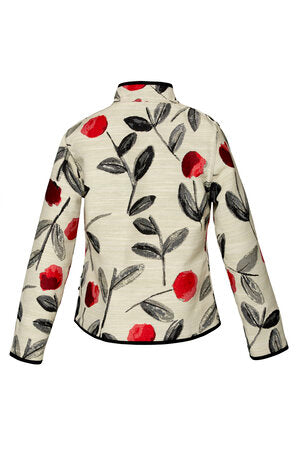Trimdin Classic Meadows of Lisse Reversible Jacket Red