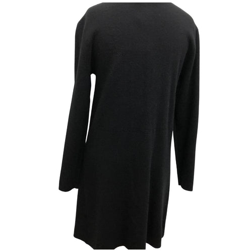 Open Long Cardigan Baci Black