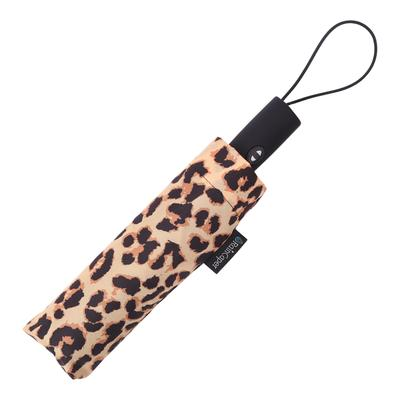 Raincaper Folding Travel Umbrella - Leopard Pattern