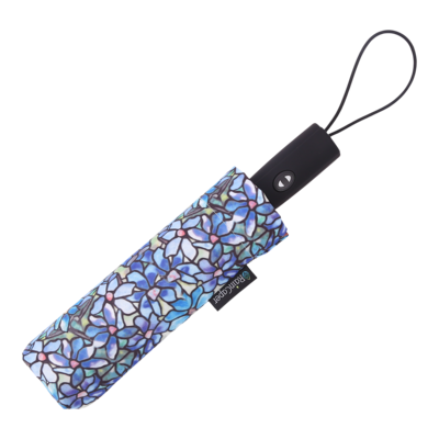 Raincaper Folding Travel Umbrella - Tiffany Clematis