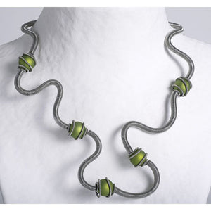 Sandrine Giraud CAGE gr necklace
