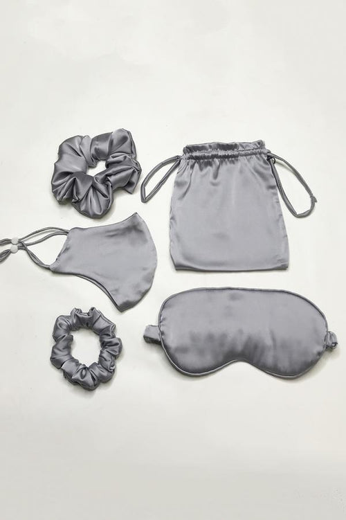 Jayley: Scrunchie, Eye & Face Mask set