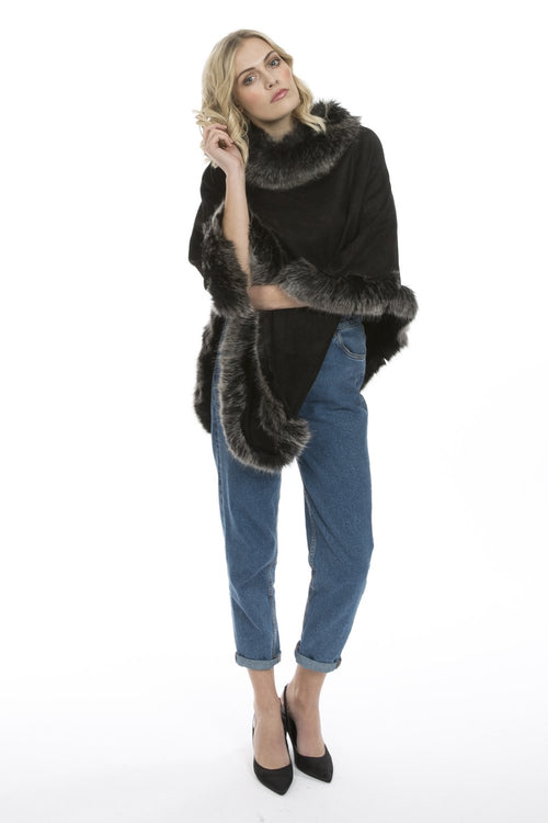 Jayley Faux Suede and Faux Fur SUFM23A