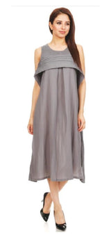 VANITE COUTURE PLEATED DRESS 87150