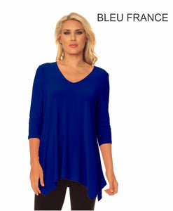 Alisha D Long Sleeve Tunic Top ADT05A