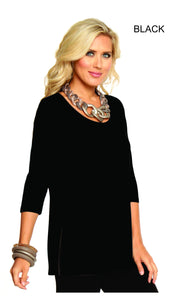 Alisha D Long Sleeve Tunic ADT06