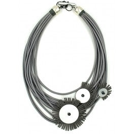 Christina Brampti Necklace CB1931a grey