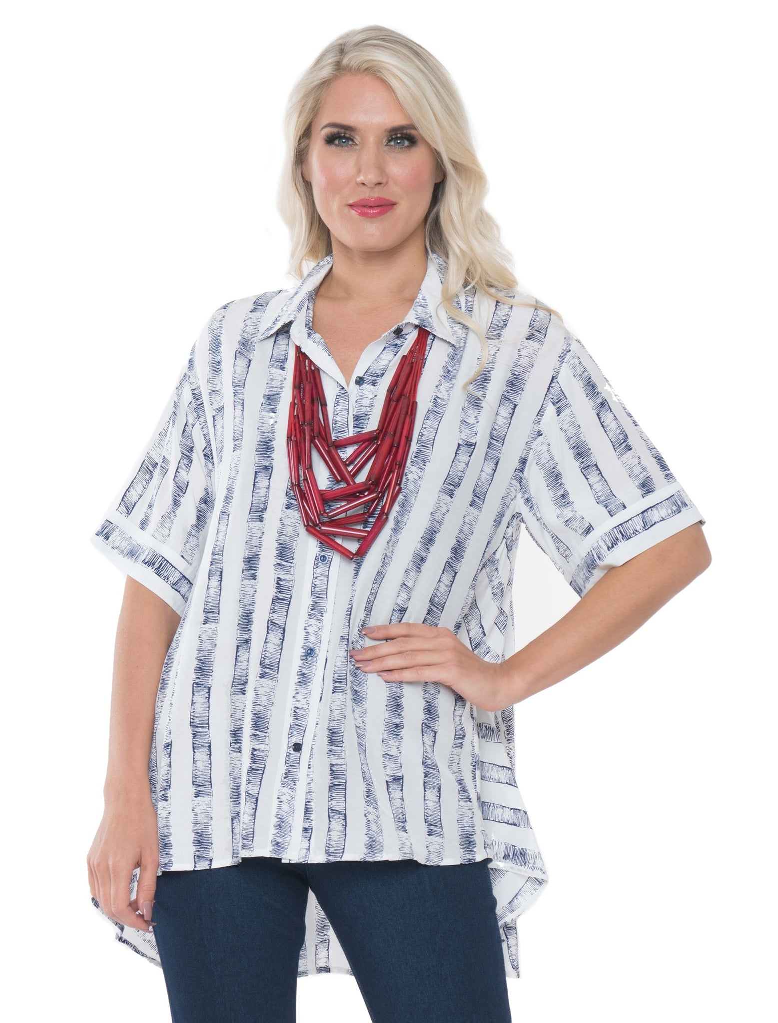 Shirt top by Lior, DAKOTA-9 S M L XL