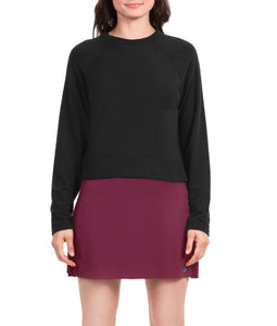 Thrive Societe NTTD Black Crew Neck Sweatshirt