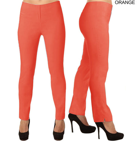 Lior Lize Orange Long Pull Up Stretch Pant