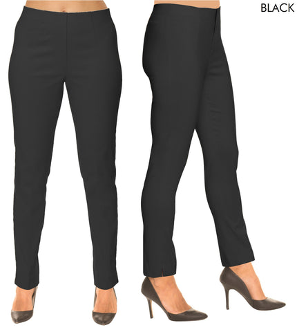 Lior Sasha Black Pull Up Stretch Pant