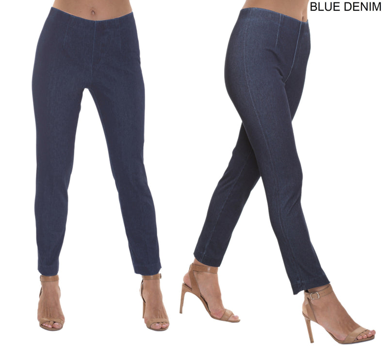 Lior Sasha denim pull on pant, Indigo Denim BEST SELLER