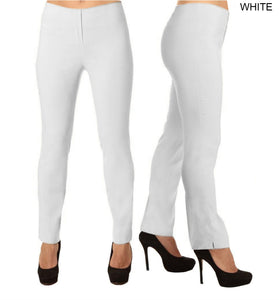 Lior Lize White Pull Up Stretch Long Pant