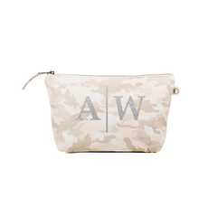 Blush Camo Cosmetic Bag