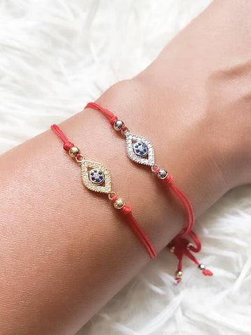 Red String Evil Eye Bracelet