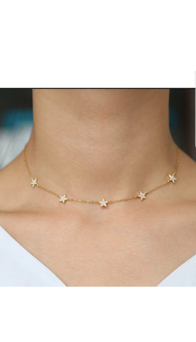 The Sara Star Choker Necklace