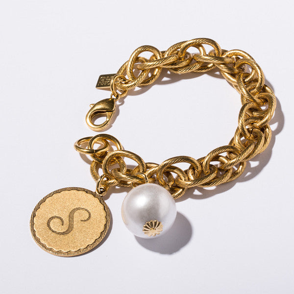 Sorority Gal Bracelet with Cotton Pearl