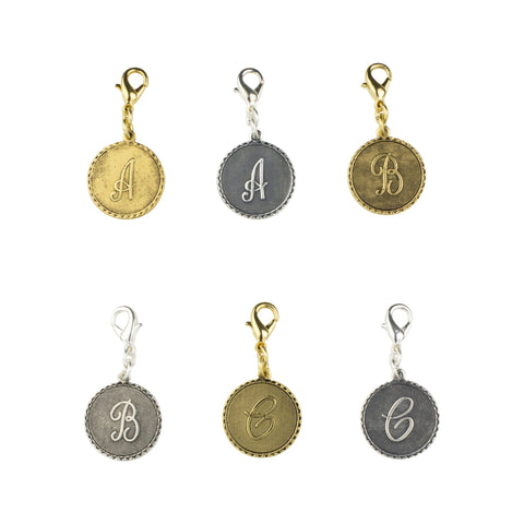 The Charm Bar Mini Initial Coins