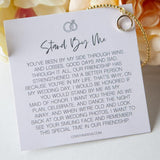 Stand By Me Keepsake Bracelet