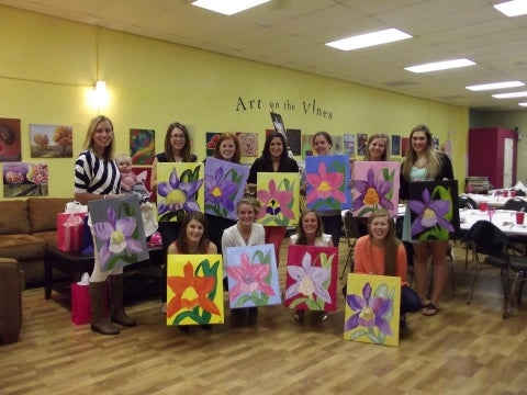 paint, wine, and canvas BYOB class in St. Louis - Kirkwood, Missouri, MO