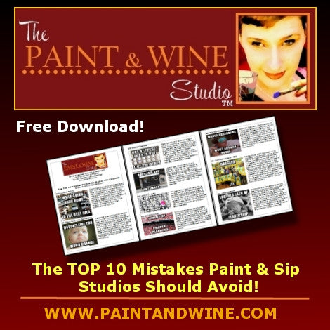 The Top 10 Mistakes Sip & Paint Studios Should Avoid!