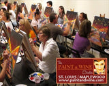 "Feb 17, Tue, 7-9:30pm, ""CITY GARDEN"" Public Paint & Wine Class at FAILONI'S RESTAURANT & BAR"