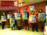 Oct 31, Fri, 7-10pm, India's Private Painting Party, Paint & Wine Class