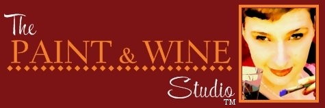 The Paint & Wine Studio Paint, Wine, & Canvas Classes