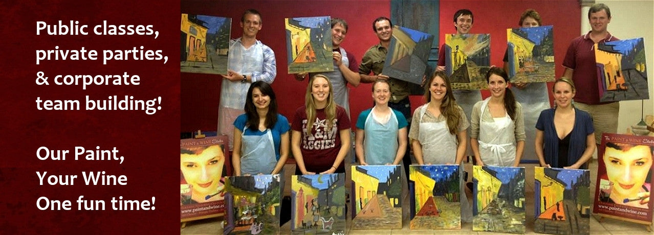 canvas painting classes near me