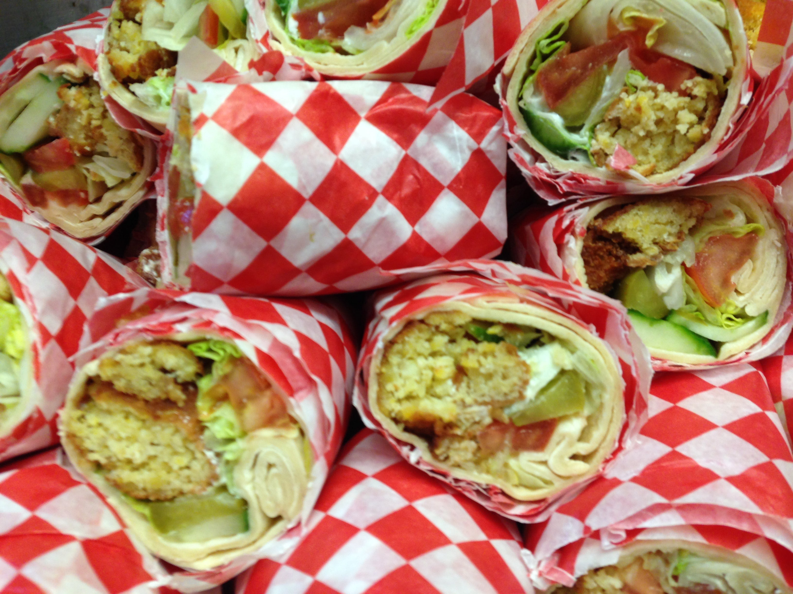 Lunch - Sandwiches & Wraps
