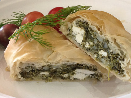 Hot Lunch - Spanakopita