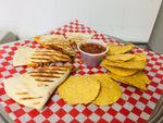 Hot Lunch Combo - Quesadilla (Black Bean)
