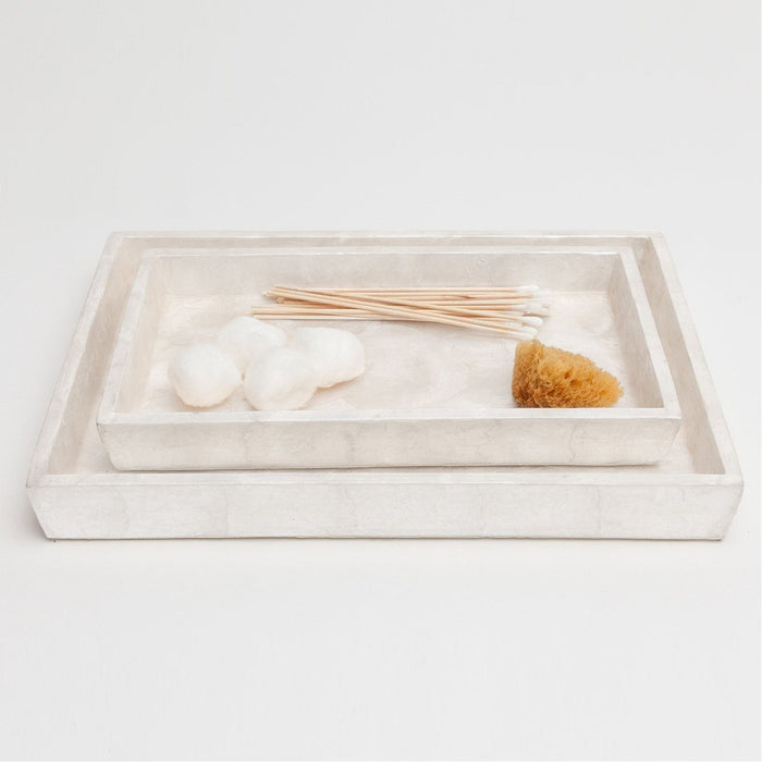 Pigeon and Poodle Andria Rectangular Tray - Tapered, 2-Piece Set